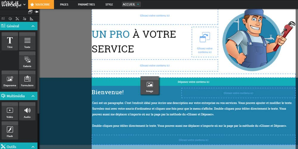 page webself
