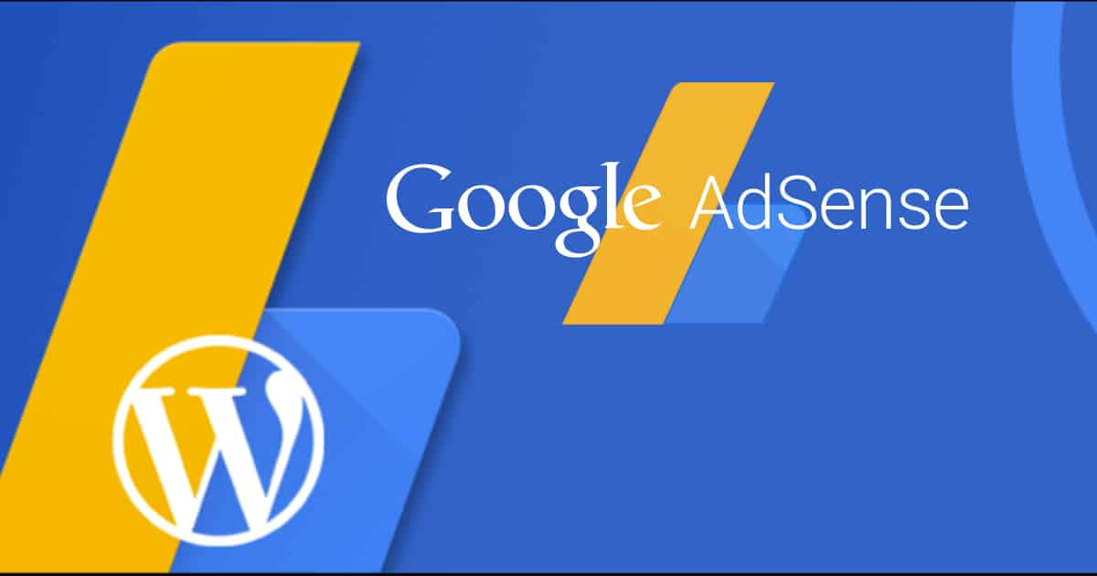 adsense wordpress