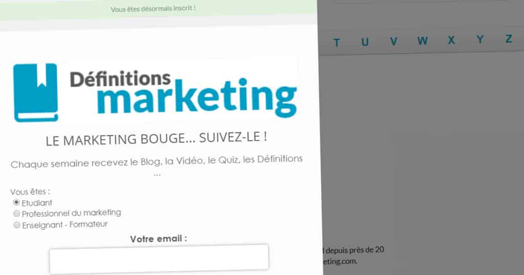 définition marketing