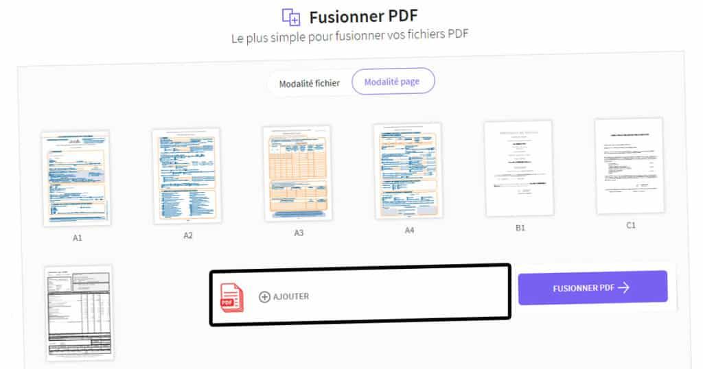 fusionner des pdf