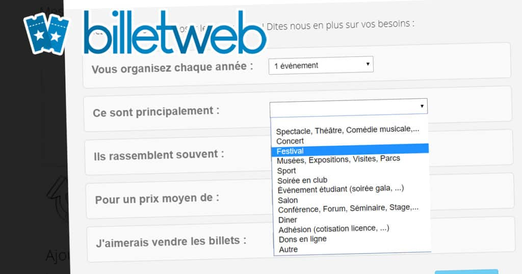 BILLETWEB
