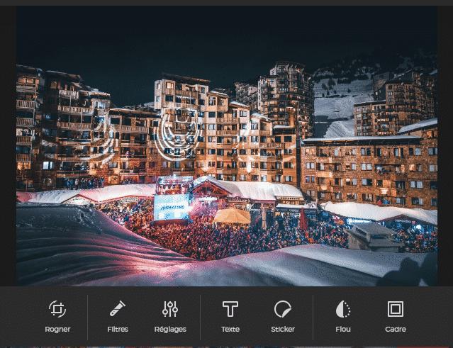 sarbacane logiciel image filtre